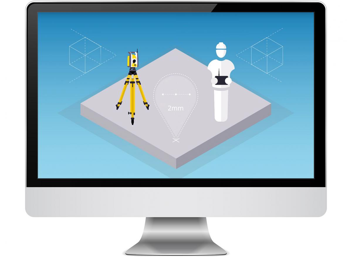 video robot & Trimble field Link